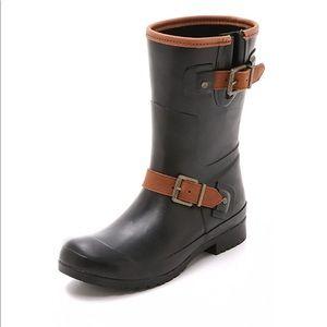 Sperry black rain ☔️ boots  👢NWT